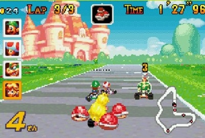 Mario Kart: Super Circuit, Screenshot #3