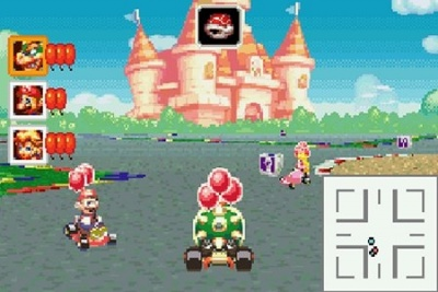 Mario Kart: Super Circuit, Screenshot #4