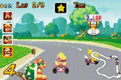Mario Kart: Super Circuit, Screenshot #6