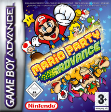 Mario Party Advance, Covermotiv/Artwork