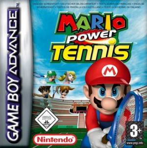 Mario Power Tennis, Covermotiv/Artwork