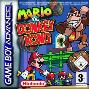 Mario vs. Donkey Kong, Covermotiv/Artwork