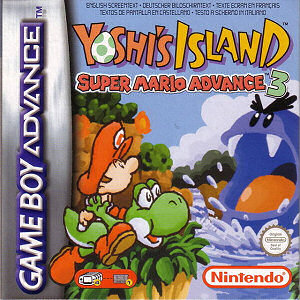 Super Mario Advance 3: Super Mario World 2 - Yoshi's Island, Covermotiv