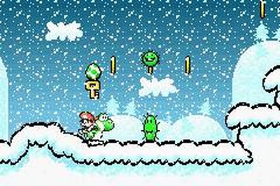 Super Mario Advance 3: Super Mario World 2 - Yoshi's Island, Screenshot #2
