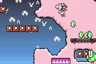 Super Mario Advance 3: Super Mario World 2 - Yoshi's Island, Screenshot #3
