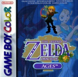 The Legend of Zelda: Oracle of Ages, Covermotiv/Artwork