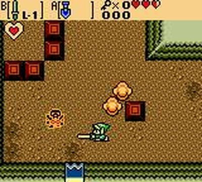 The Legend of Zelda: Oracle of Ages, Screenshot #1