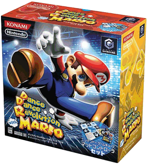 Dancing Stage Mario Mix, Covermotiv