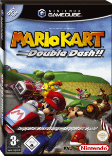 Mario Kart: Double Dash!!, Covermotiv