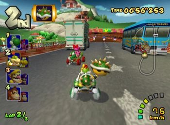 Mario Kart: Double Dash!!, Screenshot #1