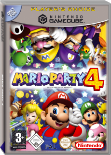 Mario Party 4, Covermotiv/Artwork