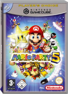 Mario Party 5, Covermotiv/Artwork