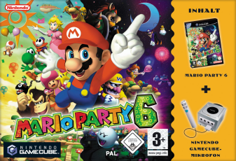 Mario Party 6, Covermotiv