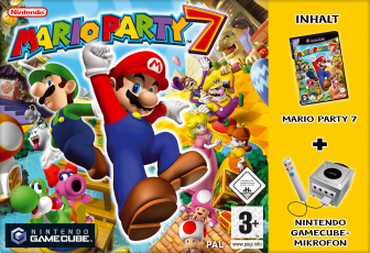 Mario Party 7, Covermotiv