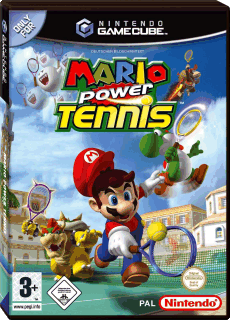 Mario Power Tennis, Covermotiv