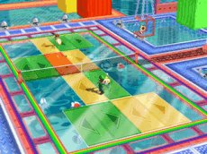 Mario Power Tennis, Screenshot #1