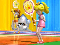 Mario Power Tennis, Screenshot #2