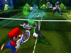 Mario Power Tennis, Screenshot #3