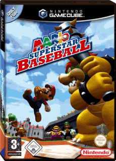 Mario Superstar Baseball, Covermotiv