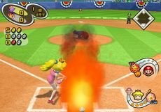 Mario Superstar Baseball, Screenshot #1