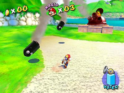 Super Mario Sunshine, Screenshot #1