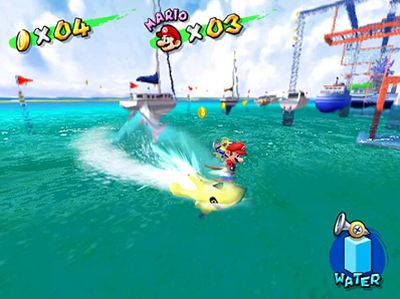 Super Mario Sunshine, Screenshot #2