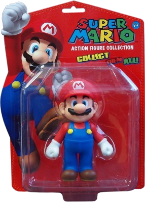 Super Mario Actionfiguren-Kollektion, Covermotiv