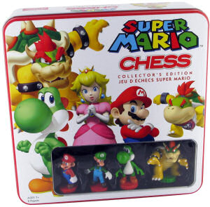 Super Mario Chess - Collector's Edition, Covermotiv/Artwork