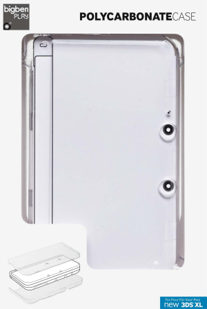 Bigben Interactive Polycarbonate Case for New Nintendo 3DS XL, Covermotiv/Artwork