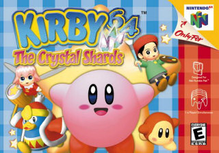 Kirby 64: The Crystal Shards, Covermotiv/Artwork