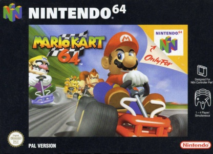 Mario Kart 64, Covermotiv/Artwork