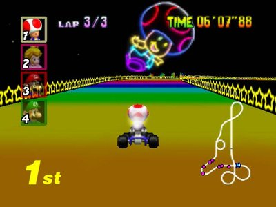 Mario Kart 64, Screenshot #2
