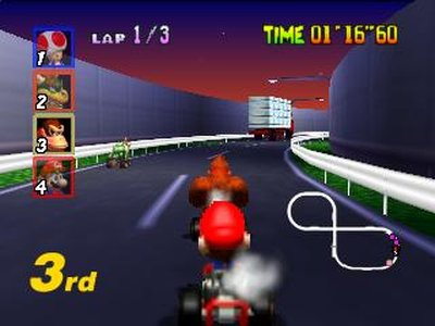 Mario Kart 64, Screenshot #3