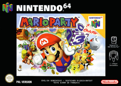 Mario Party, Covermotiv/Artwork