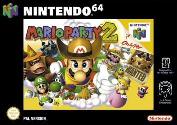 Mario Party 2, Covermotiv