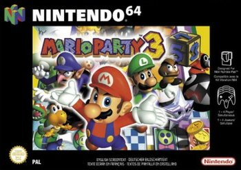 Mario Party 3, Covermotiv/Artwork