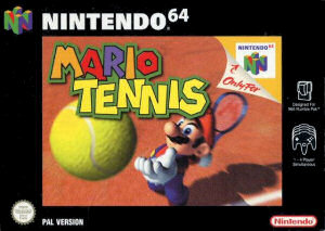 Mario Tennis, Covermotiv