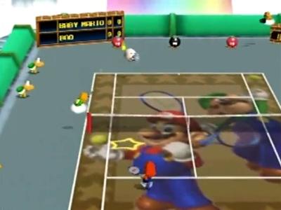 Mario Tennis, Screenshot #2