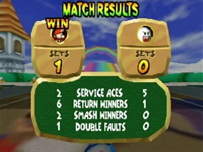 Mario Tennis, Screenshot #3