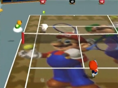 Mario Tennis, Screenshot #4
