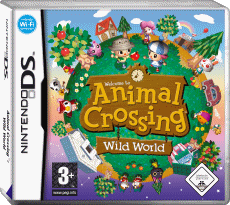 Animal Crossing: Wild World, Covermotiv