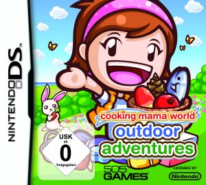 Cooking Mama World: Outdoor Adventures, Covermotiv/Artwork