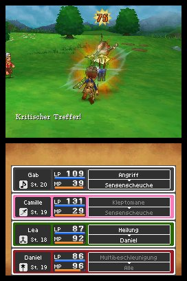 Dragon Quest IX: Hüter des Himmels, Screenshot #2