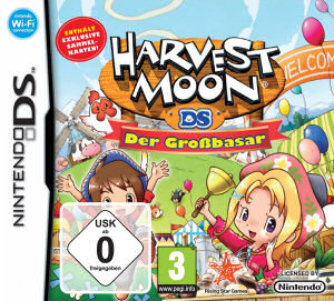 Harvest Moon DS: Der Großbasar, Covermotiv