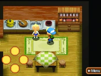 Harvest Moon DS: Mein Inselparadies, Screenshot #1