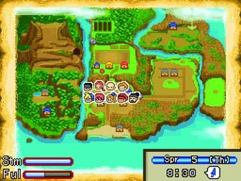 Harvest Moon DS: Mein Inselparadies, Screenshot #2