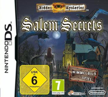 Hidden Mysteries: Salem Secrets, Covermotiv/Artwork