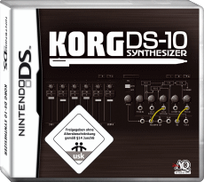 KORG DS-10 Synthesizer, Covermotiv