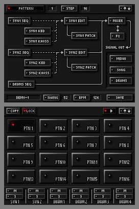 KORG DS-10 Synthesizer, Screenshot #2