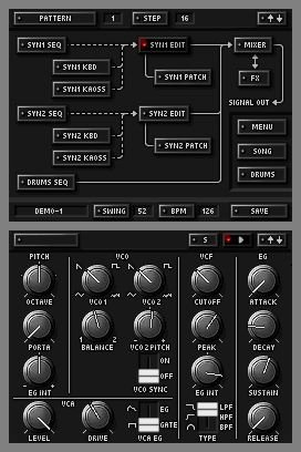 KORG DS-10 Synthesizer, Screenshot #4